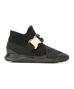 Christopher Kane | Safety Buckle Hi-Top Sneakers Size 39 Lamb