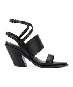 A.F.Vandevorst   Diagonal Heel Strappy Sandals Size 37.5