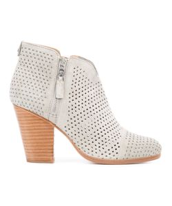 Rag & Bone | Perforated Decoration Ankle Boots Size 8.5
