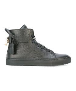 Buscemi   Padlock Detail Hi-Top Sneakers