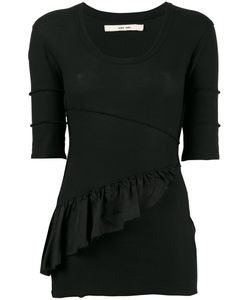 Damir Doma | Frill-Trim Fitted Top Size Medium