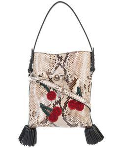 Altuzarra   Snakeskin Effect Shoulder Bag