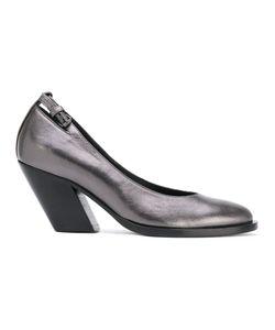 A.F.Vandevorst   Diagonal Heel Buckled Pumps Size 38.5