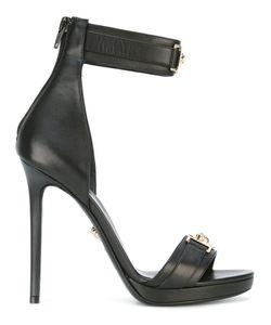 Versace | Medusa Plaque Heel Sandals Size 40