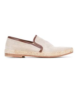 N.D.C. Made By Hand | Leather Trim Espadrille