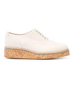 Fabiana Filippi | Canvas Lace-Up Shoes