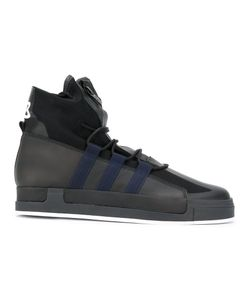 Y-3 | Lace-Up Hi Tops Size 5.5