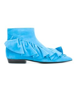 J.W.Anderson   Ruffled Ankle Boots Size 36