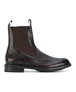 Santoni | Elasticated Ankle Boots 36