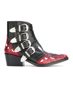 Toga | Western Buckle Ankle Boots Size 39