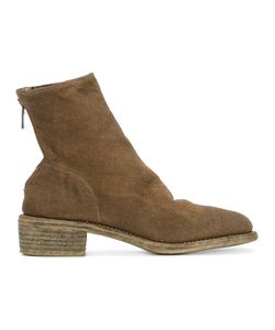 Guidi | Mid-Calf Zipped Boots Size 38.5