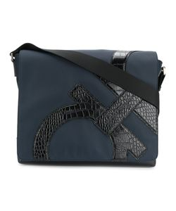 Salvatore Ferragamo | Embossed Gancio Messenger Bag Calf