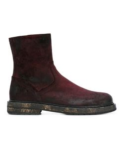 Ann Demeulemeester | Crushed Coating Boots Size 44