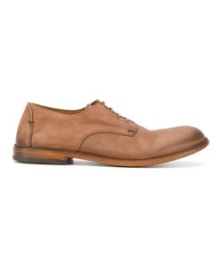Pantanetti   Distressed Derby Shoes Size 40