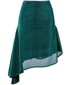 Robert Wun | Asymmetric Hem Skirt