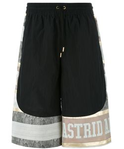 Astrid Andersen | Side Pocket Basket Shorts Large Silk/Nylon/Polyester