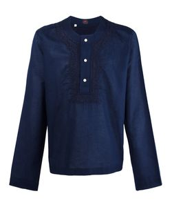 Mp Massimo Piombo | Embroidered Trim Buttoned Tunic Xl