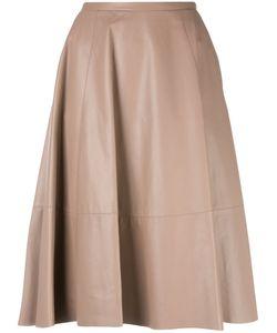Drome | Panelled Skirt Medium Lamb Skin/Cupro