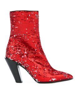 A.F.Vandevorst   Sequined Ankle Boots 38.5