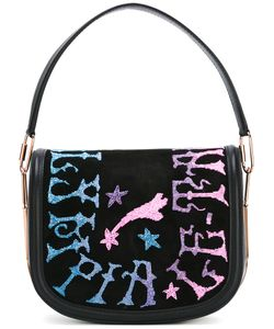 Olympia Le-Tan | Griffin Embr Carson Shoulder Bag