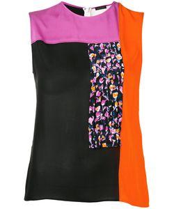 Versace | Colour Block Blouse Size 40