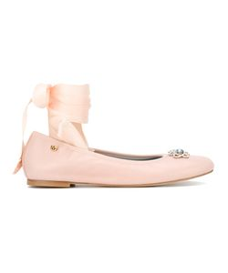Chiara Ferragni | Findmeinwonderland Lace-Up Ballerinas Size 38