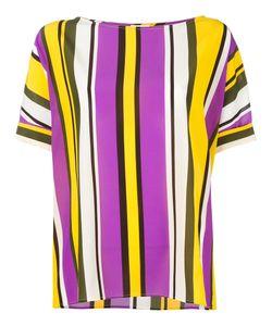 P.A.R.O.S.H. | P.A.R.O.S.H. Striped Blouse Size Medium