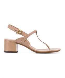 L'Autre Chose | Block Heel Thong Sandals Size 38