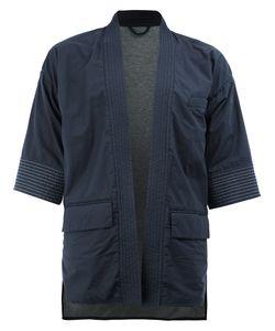 Wooster + Lardini   Open Front Kimono-Style Jacket Size 48