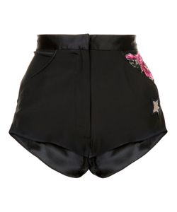 Fleur Du Mal | Snake Charmer Shorts Medium Silk