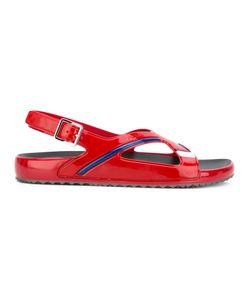 Prada | Sling-Back Buckled Sandals Size 10