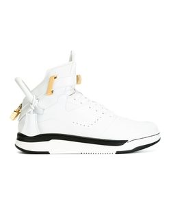 Buscemi | Lock Detail Hi-Top Sneakers 10