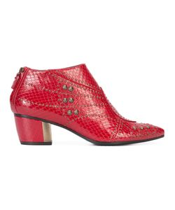 Rodarte   Studded Pointed Toe Boots