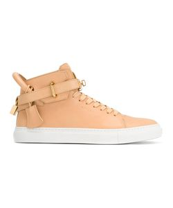 Buscemi | Buckled Hi-Top Sneakers 43