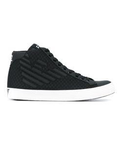 Emporio Armani | Lace-Up Logo Sneakers Men