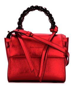Elena Ghisellini | Chain Detail Shoulder Bag Calf