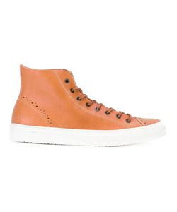 Al Duca D'Aosta | 1902 Perforated Trainer-Style Boots