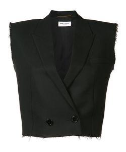 Saint Laurent | Cropped Waistcoat Size