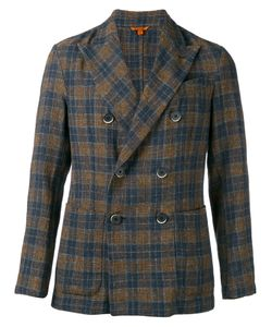 Barena | Checked Double Breasted Blazer