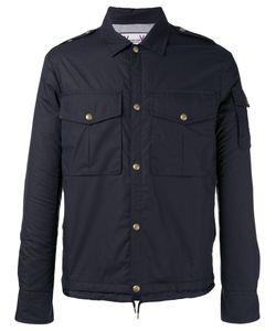 Moncler Gamme Bleu | Snap Button Jacket Size 2 Cotton/Feather