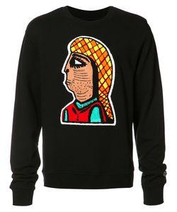 Haculla | Printed Sweatshirt Medium Cotton