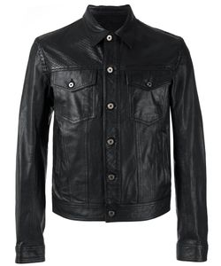 Just Cavalli | Button-Up Leather Jacket 46