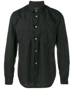 Comme Des Garçons Homme Plus | Crinkled Cross Shirt