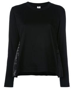 Comme Des Garçons Noir Kei Ninomiya | Pleated Side Sweatshirt