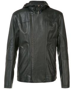 Helmut Lang | Hooded Leather Jacket Size Large
