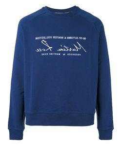 Martine Rose | Logo Print Sweatshirt Size Small