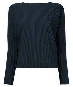 Issey Miyake Cauliflower   A-Poc Pleats Sweatshirt