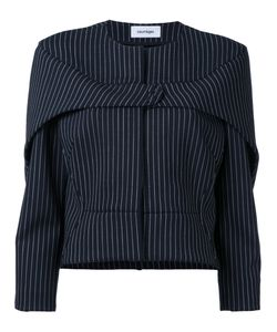 Courrèges   Press Stud Pinstripe Jacket