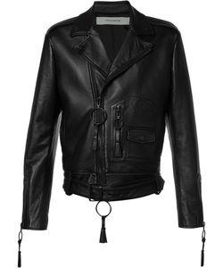 Off-White | Giorgio De Chirico Biker Jacket Medium Viscose/Lamb