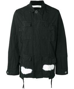 Off-White | Diagonal Stripes Cargo Jacket Xl